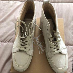 Men's Christian Louboutin Sneakers!